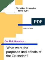 The Christian Crusades