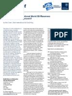 SSEE PolicyBrief Oilreserves v2