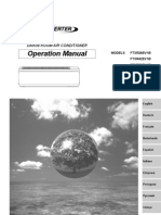 manual de operacion ururu sarara - español
