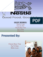 Swot and Pestle Analysis for Nestle Company