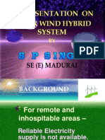 Wind Solar Hybrid ppt