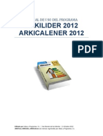 Manual de Uso de ARKILider 2012