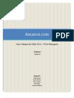 Case Critique Amazon paper