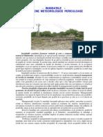 Inundatii-fenomene Meteorologice Periculoase