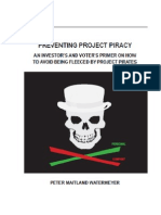 Preventing Project Piracy for Scribd