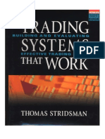 [Trading eBook] Thomas Stridsman - Trading Systems That Work