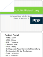 Acute Bronchiolitis Bilateral Lung Case Study Presentation