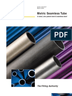 Metric Seamless Tube
