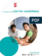Information for Candidates Booklet