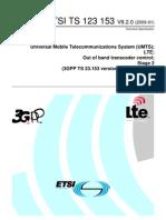 ETSI TS 123 153 V8.2.0 (2009-01)