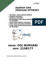 Sejarah Dan Perkembanagan Tentang Internet Ogi Nh