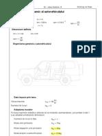 Pr-Calcul Dinamic Autovehicul