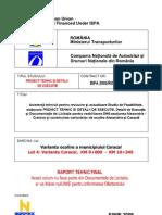 STUDIU DRUM OCOLIRE CARACAL(Cu Plan de Securitate Sanatate)