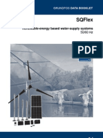 Renewable-energy based water-supply systems