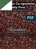 Revolver Co-op Membership Booklet
