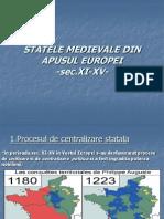 State Le Medieval Ed i Nap Usul Europe i