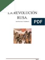 Trabajo de Carlos. La Revolución Rusa (1)