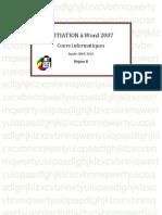Initiation Word 2007