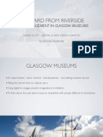 Visual Engagement in a digital world - David Scott on Riverside Museum, a case study