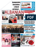 The Albanian in London 25th of February 2013