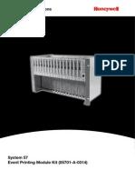 Event Printing Module Manual