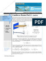 Cantilever Beam Analysis