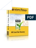 MS Excel Xlsx Repair Software