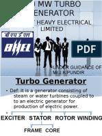 500 Mw Turbo Generator