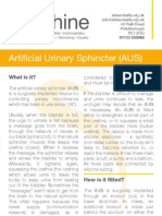 Artificial Urinary Sphincter