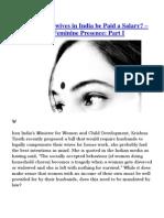 The Feminine Presence - Part I & II