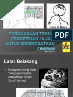 2013-02-22 Penguasaan Teknik Pengetikan 10 Jari Untuk Meningkatkan Kinerja