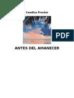 Candice Proctor - Antes Del Amanecer