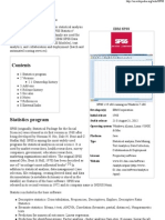 SPSS_Stastical Pacakge for Social Sciences