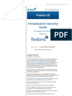 Fedora 18 Virtualization Security Guide en US