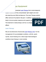 Laser Therapy Equipment Suppliers