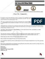 March Robert E Lee camp 1589 Newsletter