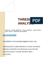 Threshold Analysis