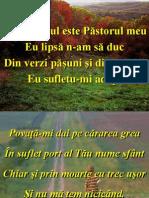 Azi Domnul Este Pastorul Meu