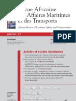 Revue Africaine Aff Marit & Transp