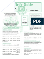 Spring 2009 Activity Guide