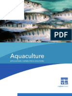 YSI Aquaculture Capabilities and Solutions Catalog