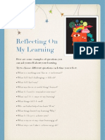 Questions for Learning Reflection