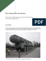 Ukrainische Nuklearabrüstung Marcel Röthig (1)
