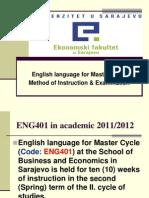 Engleski Jezik Za II Ciklus EFSA