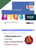 DB2Active_ActiveHAClusteringDwaineSnow