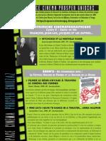 Programme Février-Avril 2013