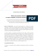 130227_CP_OEC_Propositions_Réforme_Procédure_Collective