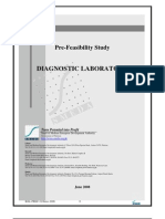 Diagnostics feasibility report