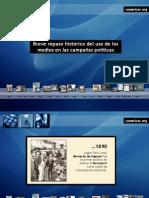 Campañas Politicas en La Historia por Natalia Fidel