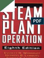 Steam Plant Operation (E.B. Woodruff, H.B. Lammers, T.F. Lammers - 8th Ed)